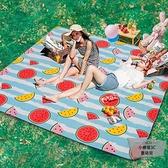 野餐墊防潮墊戶外便攜防水加厚野餐布郊游野炊地墊【小檸檬3C】