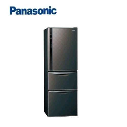 Panasonic  385L 3門電冰箱 NR-C389HV-K(星空黑)