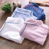 男童短袖T恤夏裝薄款寶寶竹節棉打底衫上衣童裝兒童純棉半袖t恤衫
