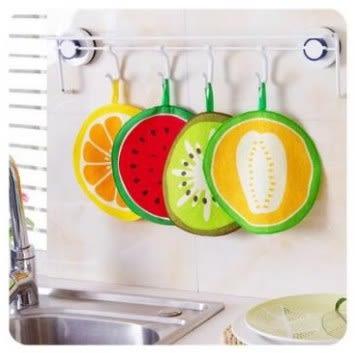 預購-圓形水果擦手巾