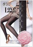 【蒂巴蕾】LOVE 星星 彈性 透膚 絲襪 褲襪(6入組)