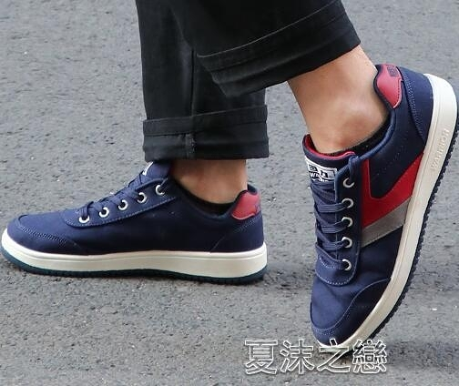帆布鞋男 回力鞋男鞋子帆布鞋休閒鞋秋季學生韓版潮平底運動布鞋男士板 快速出貨