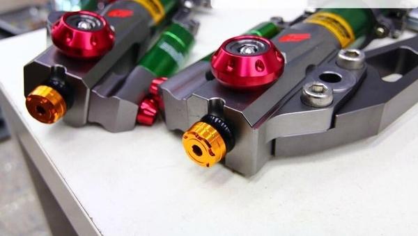 機車兄弟【Z1前叉內管組+前叉調整器 彩鈦】(勁戰/JET'S/六代戰將/G6/DRG)