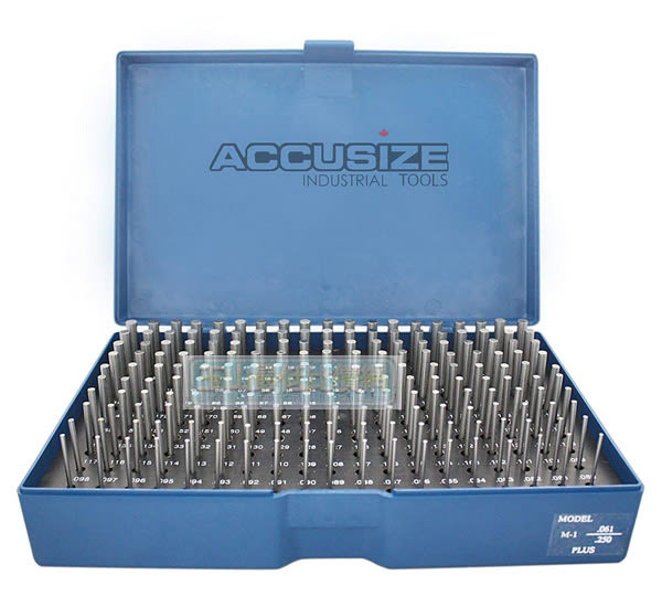 [8美國直購] 針規套裝 Accusize Industrial Tools 0.917吋-1.000吋, 84 Pcs Steel Plug Pin Gauge M7(-)