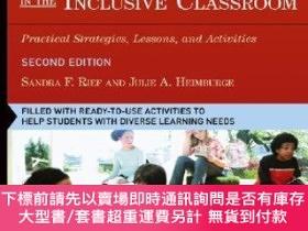 二手書博民逛書店預訂How罕見To Reach And Teach All Children In The Inclusive C