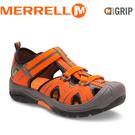 【MERRELL 美國 兒童 HYDRO《亮橘》】MY56930/兒童涼鞋/休閒鞋/運動健走鞋