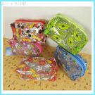 限量特價/正版迪士尼 防潑水透明化妝包-小 環保材質 方包 萬用包 筆袋