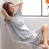 睡衣 夏天居家服短袖女薄睡衣公主睡裙夏棉睡裙群夏裝洋裝