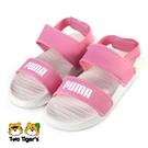 PUMA Soft Sandal PS 運動 涼鞋 中童 粉 NO.Y1713(37569503)