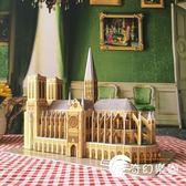 3D立體拼圖建筑紙模型精裝燈巴黎圣母院 創意禮品玩具MC054-奇幻樂園