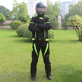 冬夏季摩托車騎行服套裝男女賽車褲防摔防水機車衣服   LannaS