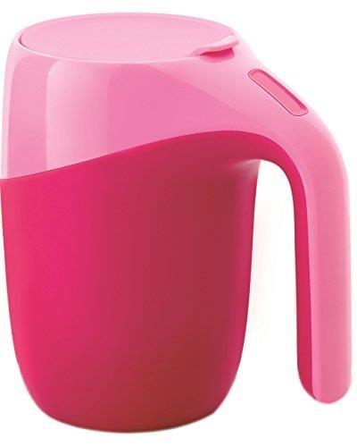 【日本代購】Giaretti Magic Lock 馬克杯 熱粉紅色 IH 墊子套裝