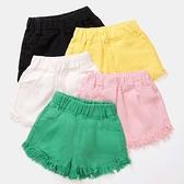 女童牛仔短褲 女童牛仔短褲薄夏裝新款中大兒童正韓純棉休閒小女孩三分褲子外穿-Ballet朵朵