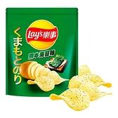 Lay s 樂事熊本海苔口味洋芋片 580公克 (2包裝)