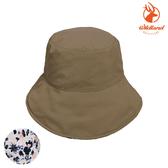 WildLand 中性抗UV印花雙面遮陽漁夫帽 W1063 / 城市綠洲(UPF50+、防曬帽、遮陽帽、透氣)