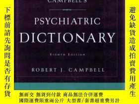 二手書博民逛書店Campbell s罕見Psychiatric Dictiona