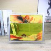 好康降價兩天-玻璃流沙畫創意擺件沙漏辦公室客廳裝飾品節日生日禮物送男生女生
