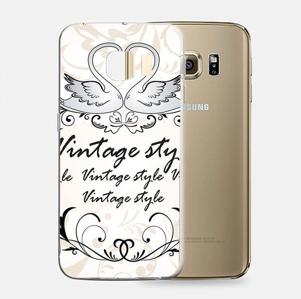 ♥ 俏魔女美人館 ♥Samsung Galaxy S7 {天鵝*立體浮雕軟殼} 手機殼 手機套 保護殼