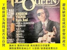 二手書博民逛書店Ellery罕見Queen's Mystery Magazine (May, June 1992) 英文原版-《埃