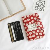 卡片包-網紅ins山茶花朵少女心20卡位卡包 日韓國潮款學生名片銀行卡片包 喵喵物語
