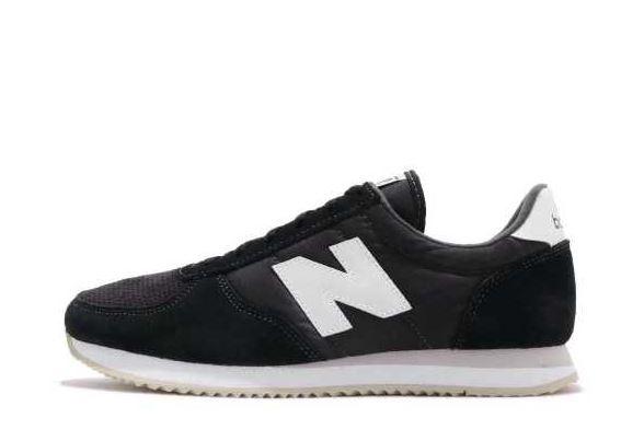 New Balance 休閒系列 -女款黑色復古休閒鞋- NO.WL220TD