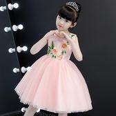 女童洋裝   2018新款背心連身裙童裝韓版夏裝兒童公主裙禮服洋氣裙子