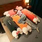 靠枕床頭長條抱枕枕頭可拆洗床上靠墊【愛物及屋】