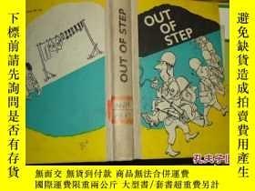 二手書博民逛書店out罕見of step(英語讀物第19冊)Y24921 G.A