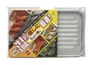 日本製 竹原烤盤 烤箱烤盤 A-39 不沾 好清洗 烤箱 烤盤 小烤箱專用 不沾烤盤-波浪瀝油底