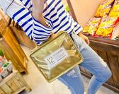 化妝包少女心小號便攜韓國簡約大容量多功能化妝品收納袋 挪威森林