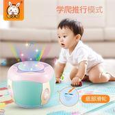寶寶拍拍鼓6-12個月電動音樂嬰兒童0-1歲男女8九益智玩具5手拍鼓3 igo