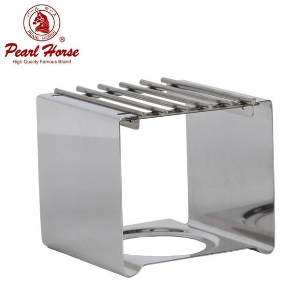 【沐湛咖啡】寶馬牌 四方型不鏽鋼爐架白鐵爐架 適用各式小瓦斯爐 摩卡壺專用 適用寶馬摩卡壺