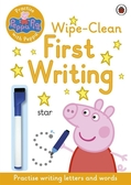 Peppa Pig:Practise With Peppa:First Writing 可擦拭練習本:佩佩豬學寫字