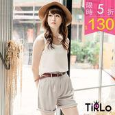 背心-Tirlo-純色雪紡無袖背心-4色