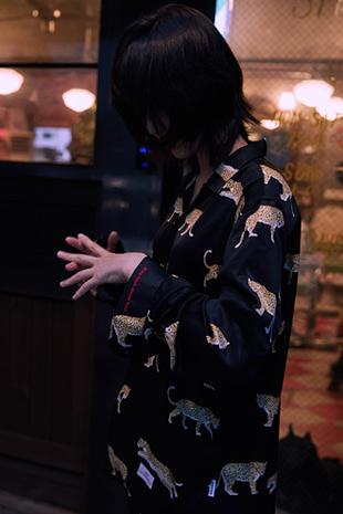 【GOZER Taiwan】LEOPARD WORLD SHIRT 花豹動物長袖襯衫 (黑色) 現貨