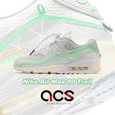 Nike 休閒鞋 Air Max 90 Light Bone 米白 綠 男鞋 電繡小勾勾 氣墊 運動鞋【ACS】 CZ9078-010