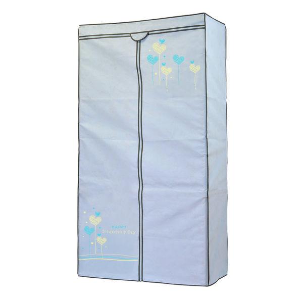 居家收納 巧易收多彩樂活衣櫥套 約(90*45*180cm) AS7756/鐵力士衣架/衣櫃套/防塵套