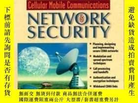 二手書博民逛書店Cdma罕見Cellular Mobile Communications And Network Security