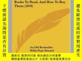 二手書博民逛書店The罕見Library: Or Some Hints abou