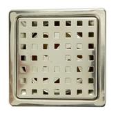 歐式方格防臭地板落水頭 1 5 吋排水孔