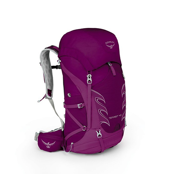 [OSPREY] 女 TEMPEST 40 專業登山背包 神秘紅 WX/S (10000872MM) 秀山莊戶外用品旗艦店