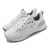 Under Armour 訓練鞋 UA Charged Commit TR 3 白 灰 男鞋 【ACS】 3023703103