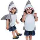 萬聖節 兒童鯊魚造型服裝