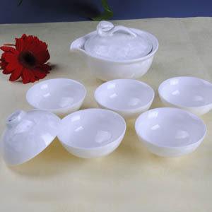 白結晶釉如意壺
