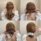 盤髪器 2021韓國代購春夏新款丸子頭盤髮器網紅懶人仙女花編髮造型神器女
