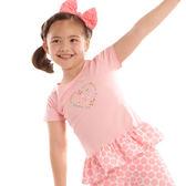【愛的世界】純棉圓領短袖上衣/6歲-台灣製- ★春夏上著