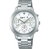 【人文行旅】Agnes b. | 法國簡約雅痞 FCRT982 簡約時尚腕錶 40mm