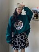 裙子套裝女秋冬新款韓版洋氣衛衣 顯瘦半身裙冬季時尚兩件套
