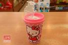 Hello Kitty 凱蒂貓 飲料杯雙孔削筆器 粉 957281