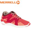【MERRELL 美國 女款 ISIX8 MESH 休閒鞋《橘/紅》】ML03274/休閒鞋/登山鞋/運動鞋